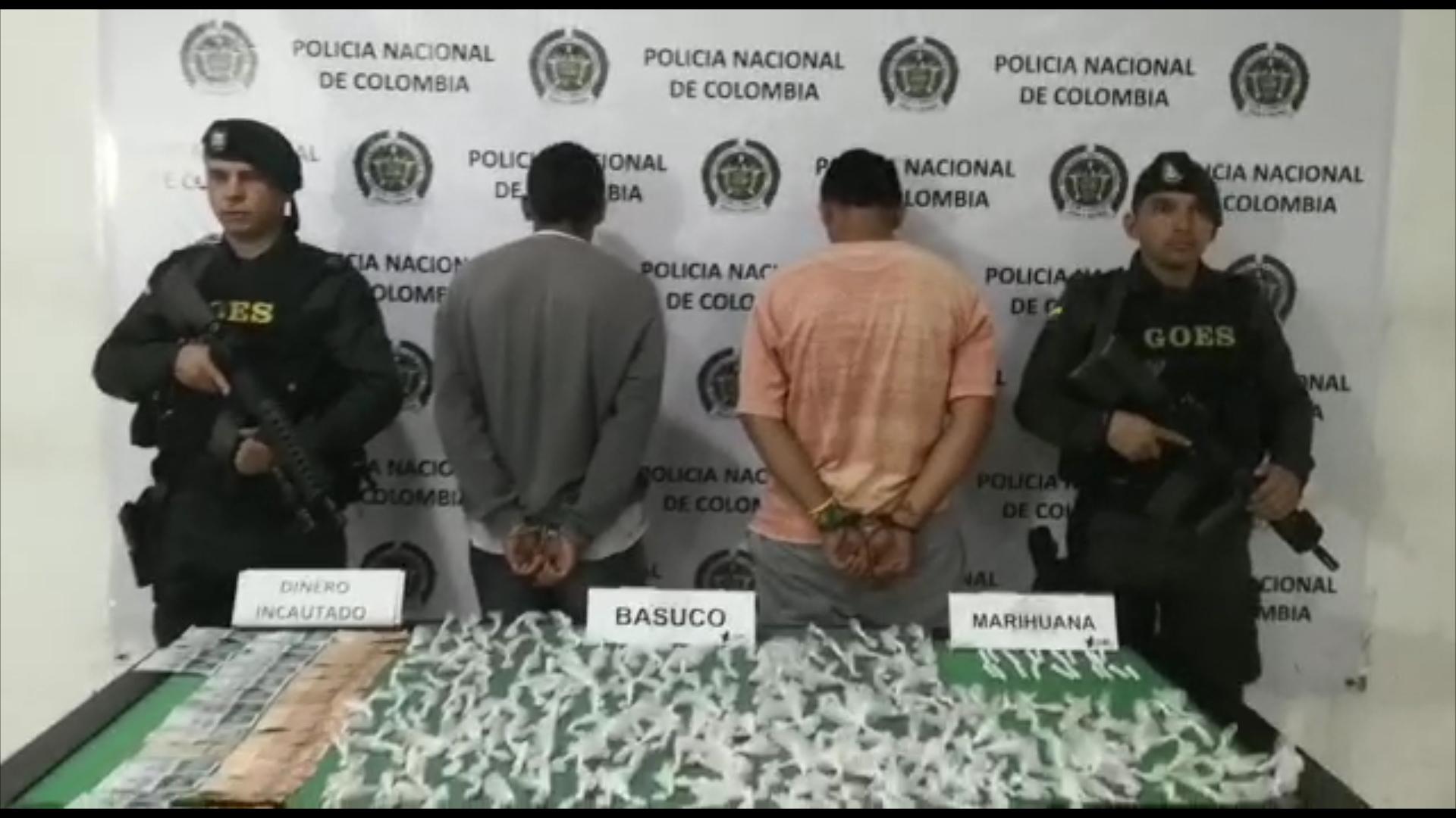 Capturadas cuatro personas dedicadas a la comercialización de alucinógenos en Bucaramanga | EL FRENTE