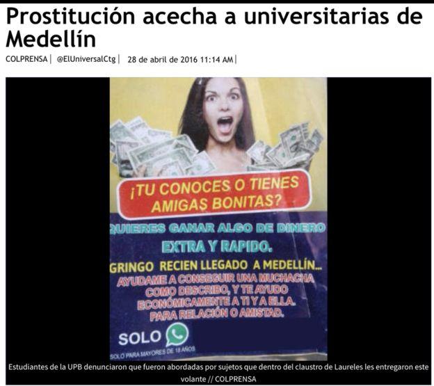 Los testimonios de dos jóvenes universitarias que se prostituyen se hacen virales  | EL FRENTE