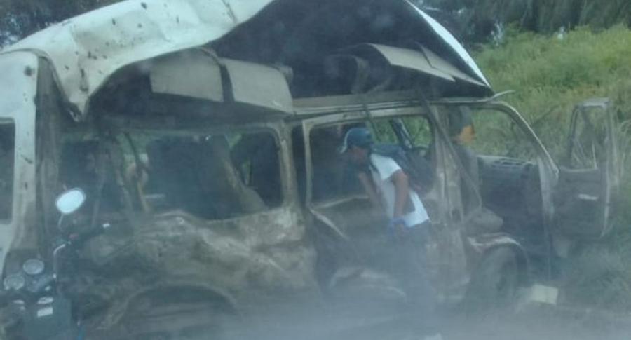 2 muertos y 4 heridos en atentado en Tibú | EL FRENTE