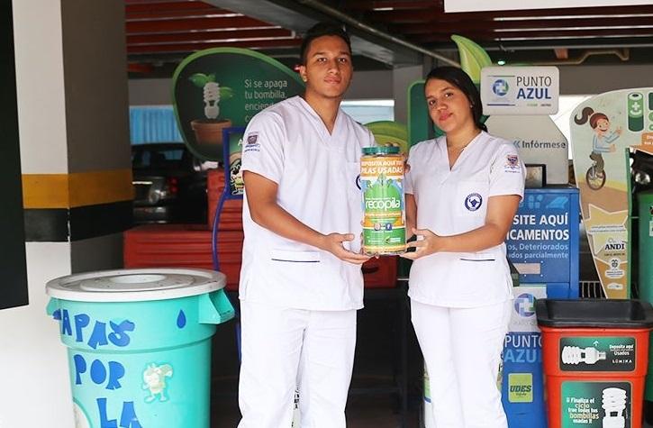 Dos día de campañas y conferencias en la UDES. Jornada de disposición final de residuos posconsumo | EL FRENTE
