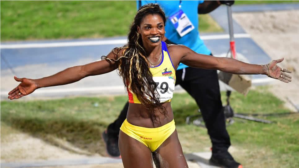 Homenaje para Caterine Ibargüen la mejor atleta del mundo | EL FRENTE