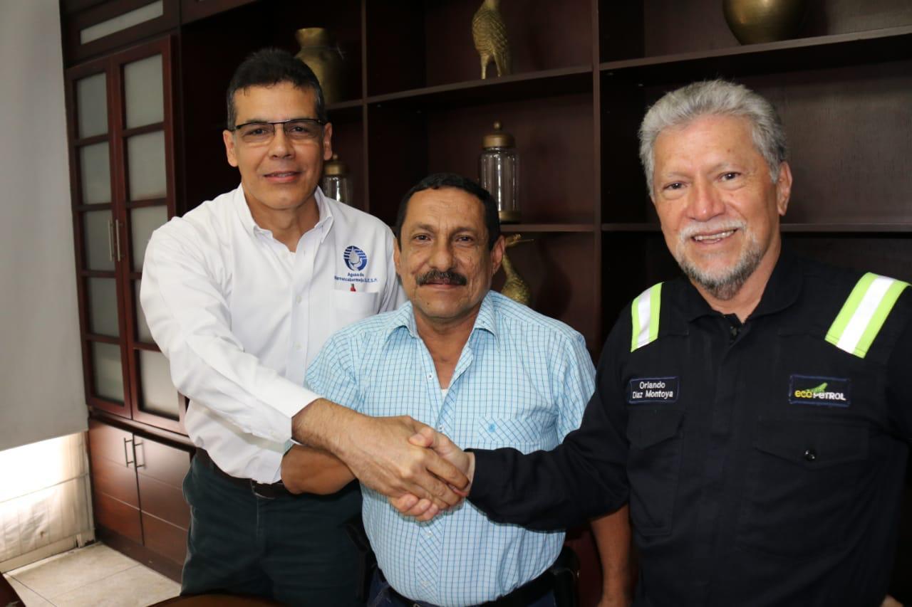 Planta de tratamiento de aguas será una realidad en el Puerto Petrolero Firmado el otrosí    EL FRENTE