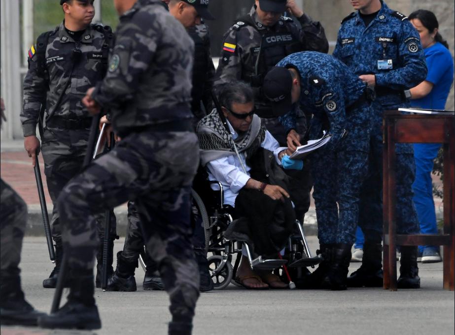 Menos de cinco minutos estuvo Santrich en libertad | Nacional | Política | EL FRENTE