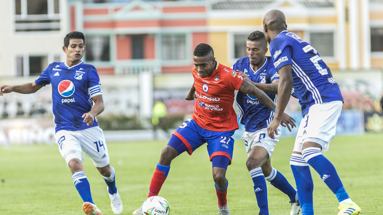 Millos y Pasto igualaron 1-1 en Ipiales | Nacional | Deportes | EL FRENTE