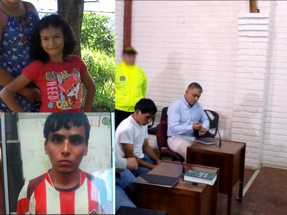 Condenado a 48 años de cárcel el asesino de niña en Curití  | EL FRENTE