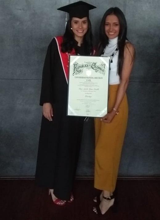 Psicóloga.  Grado de Angie Julieth Gómez Castillo | EL FRENTE