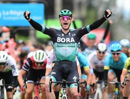 Sam Bennett ganador de la tercera etapa | EL FRENTE