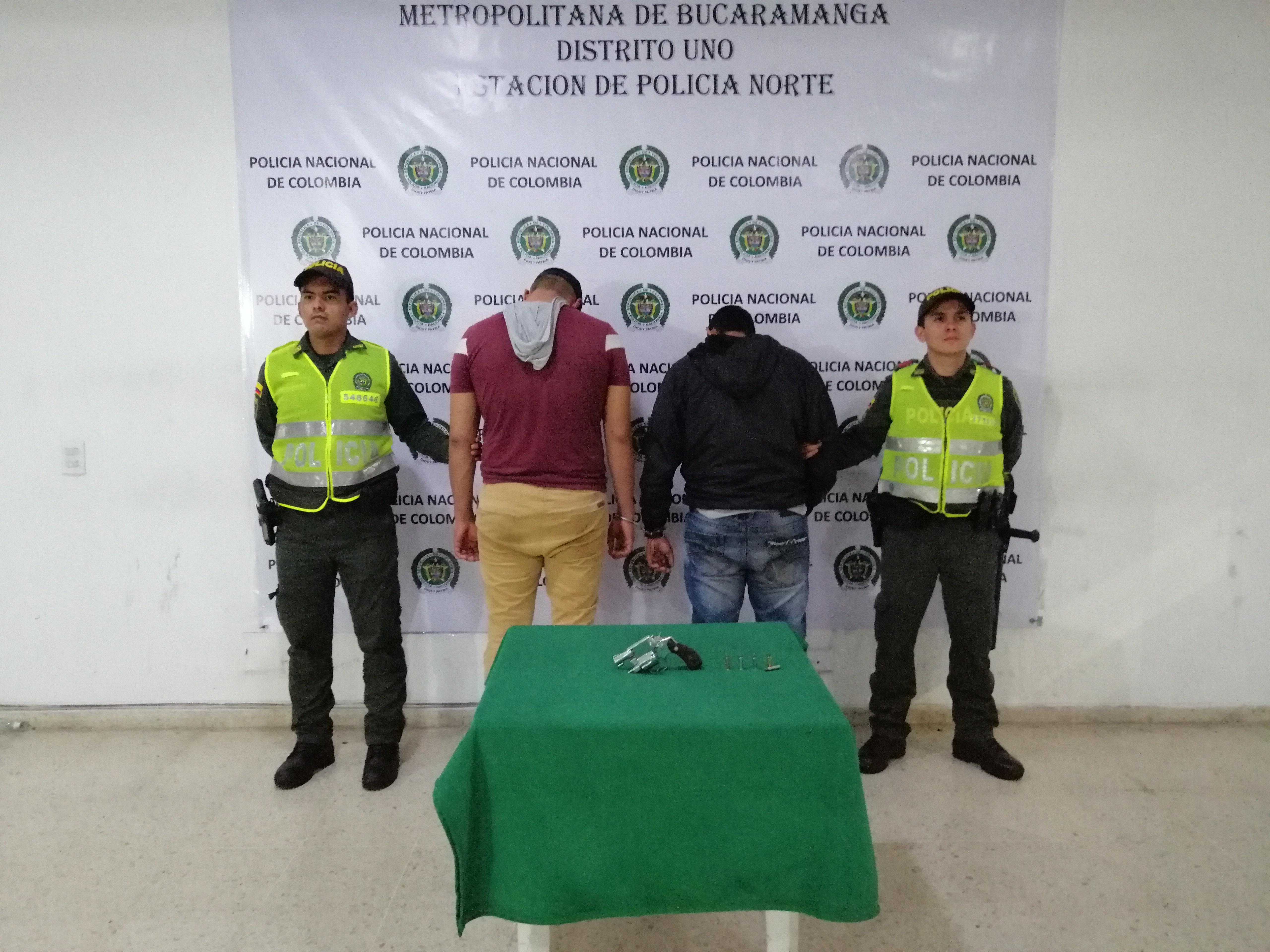 Capturan cuatro personas por delito de fabricación y porte de armas de fuego en Bucaramanga | EL FRENTE