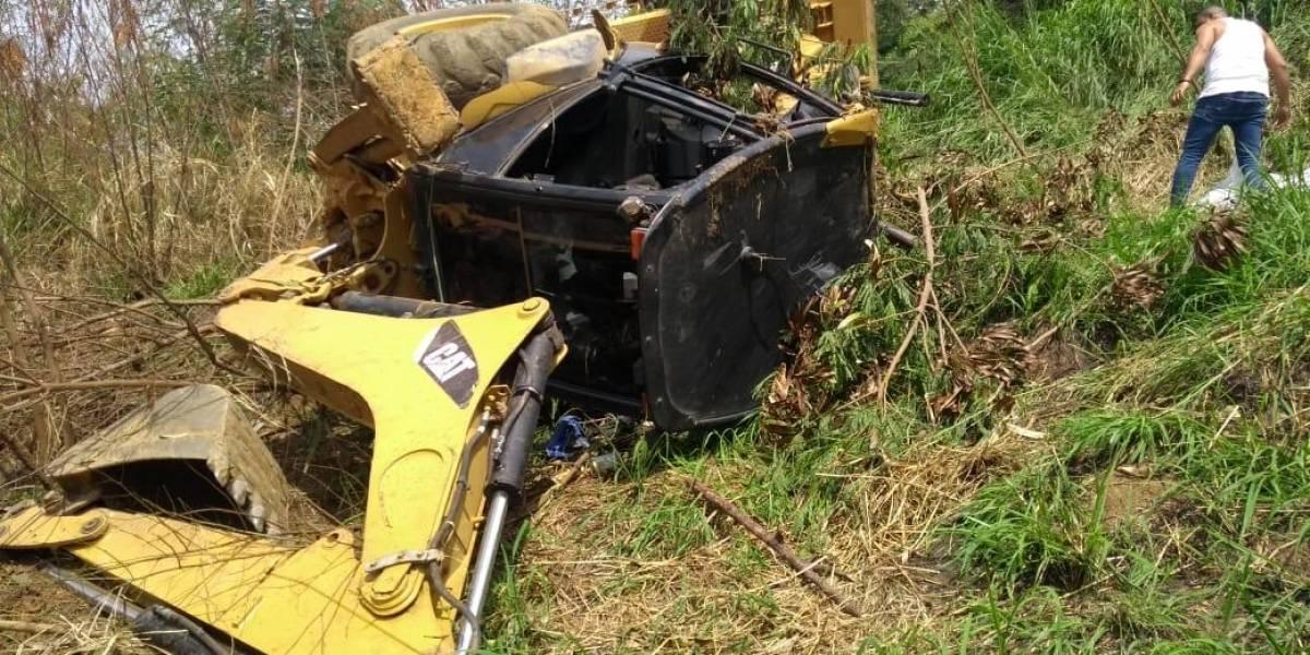 Hombre murió aplastado por su propio vehículo   EL FRENTE