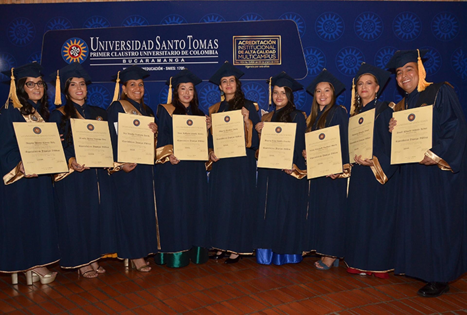 Nueva promoción de graduados Tomasinos. Aporte intelectual al mundo laboral | Educación | Variedades | EL FRENTE