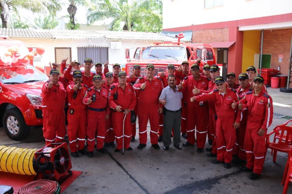 Implementación para el Cuerpo de Bomberos del Puerto Petrolero | Municipios | Santander | EL FRENTE