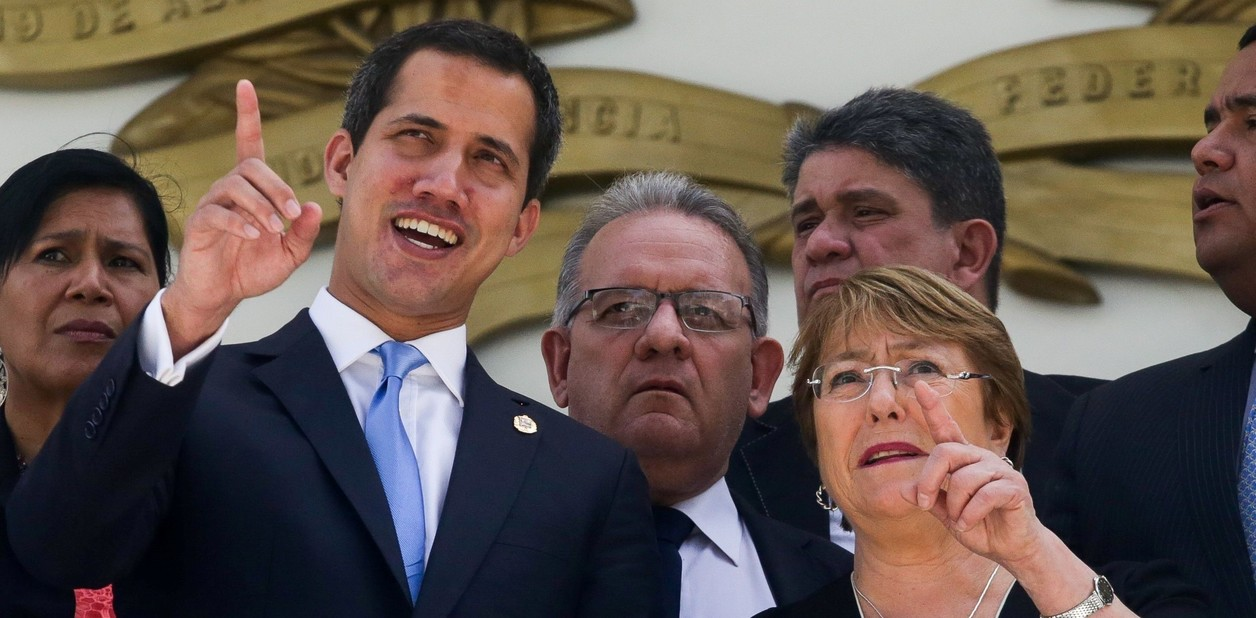 "Bachelet impulsa liberación de ""presos políticos"", dice Guaidó | EL FRENTE"
