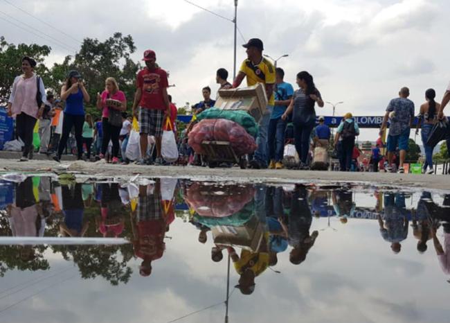 A Puerto Santander llegaron más de 500 venezolanos | EL FRENTE