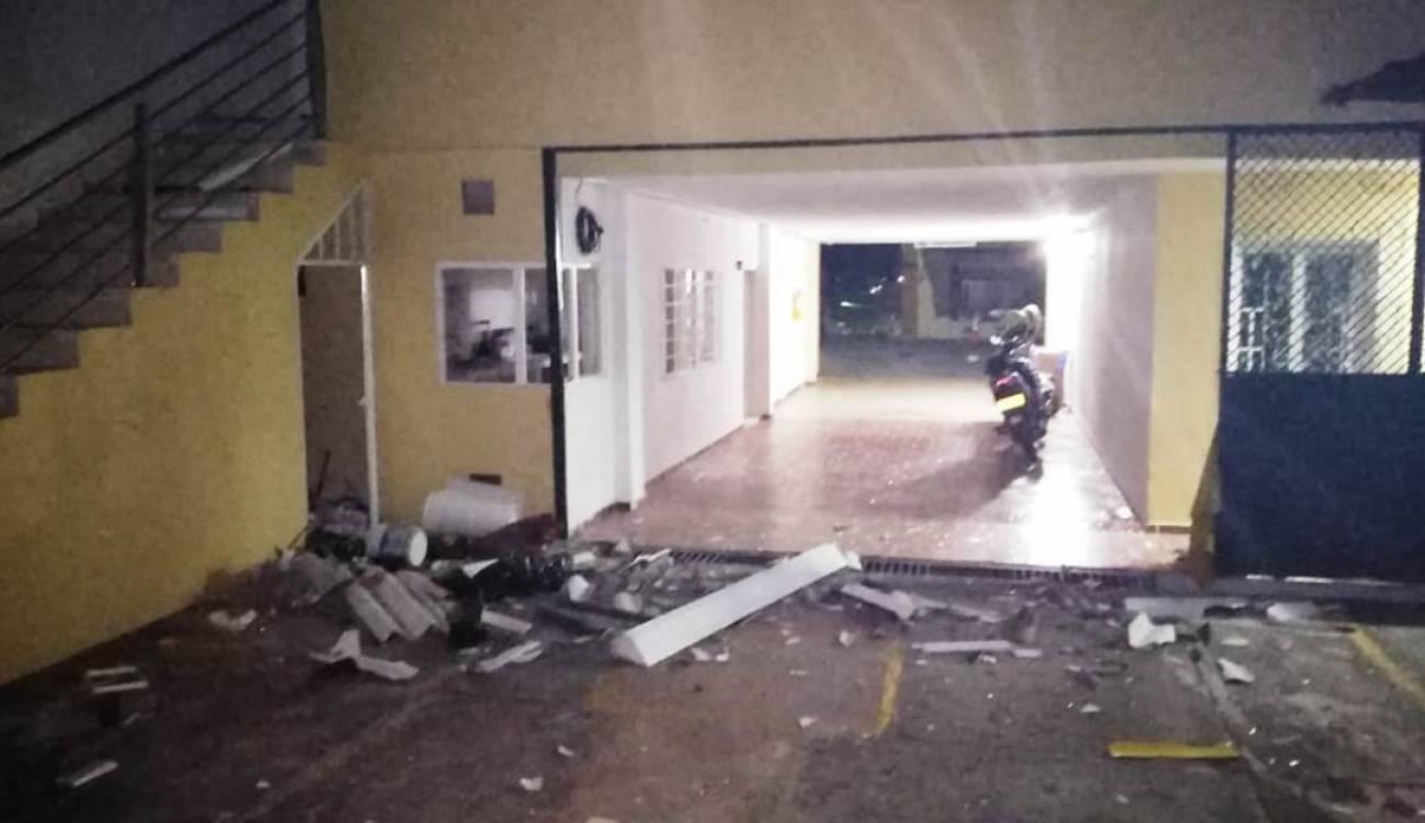 Con explosivos fue atacada sede de la Fiscalía en Ocaña, Norte de Santander | EL FRENTE