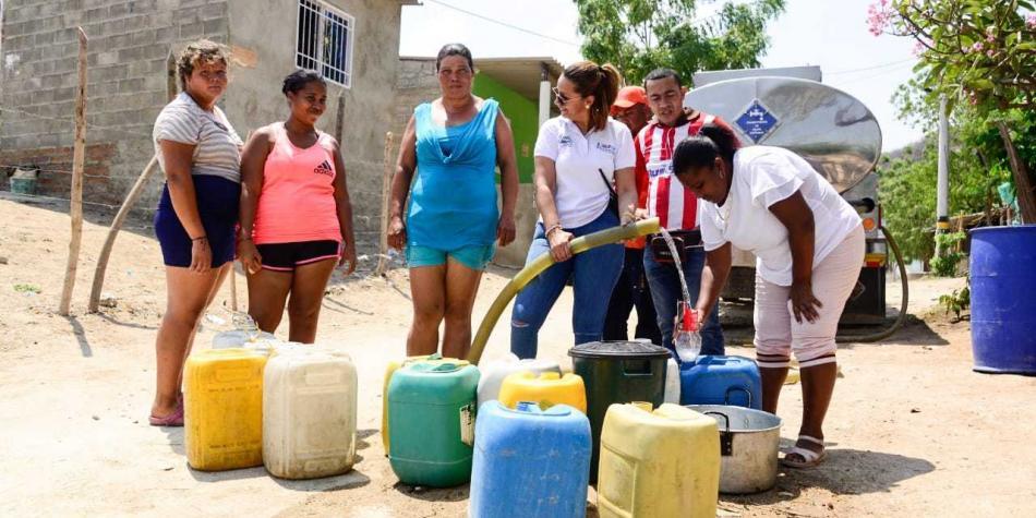 Por desabastecimiento de agua se extiende calamidad pública en Santa Marta | EL FRENTE