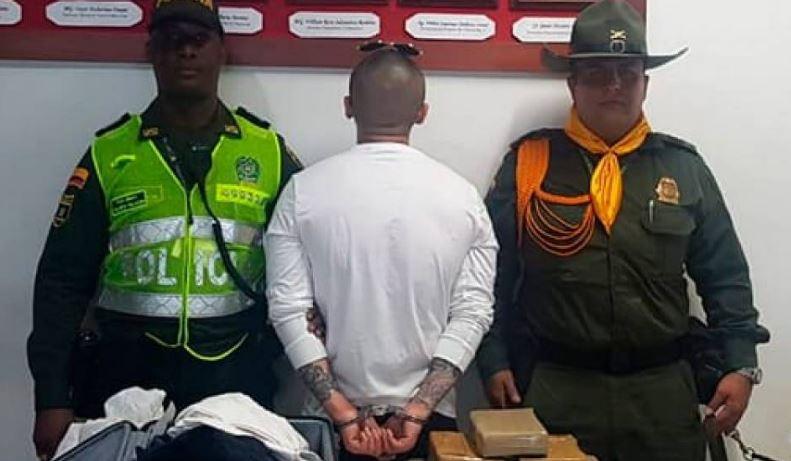 Capturado hombre que pretendía llevar cargamento ilegal de Colombia a Shangái | EL FRENTE