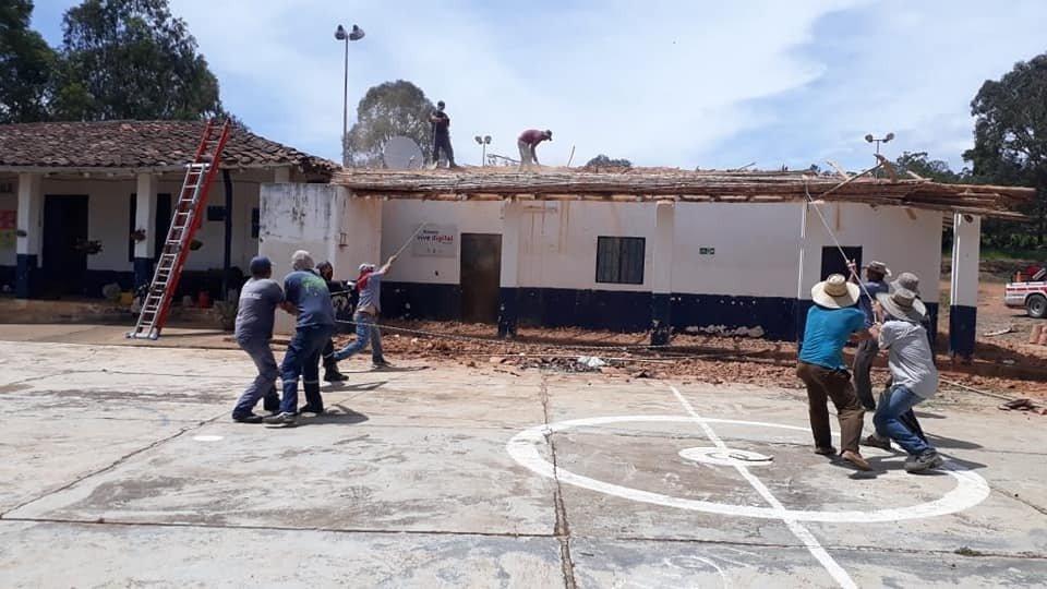 Colapso de vías, colegios y red de aguas negras. Declarada calamidad pública en Barichara | EL FRENTE