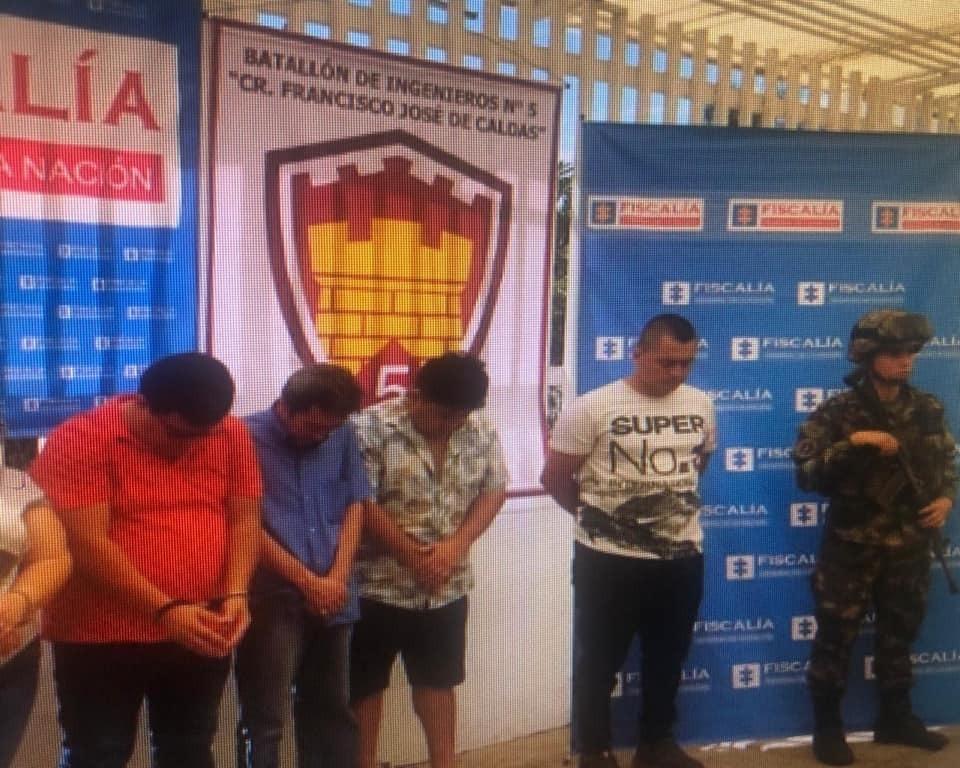 Los Domiciliarios fueron detenidos en Bucaramanga   EL FRENTE