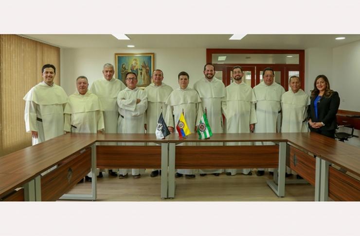 Posesión en las Universidad Santo Tomás. Nuevos Frailes en cargos directivos  | EL FRENTE
