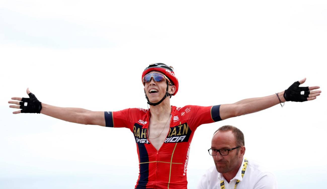 Mike Teuns ganó la sexta etapa y Nairo fue 7° en primera etapa de montaña   EL FRENTE