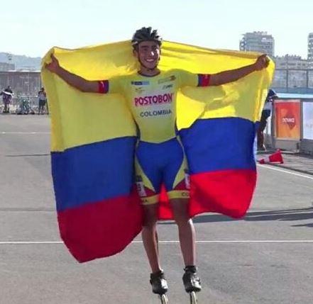 Santandereano fue coronado campeón mundial de patinaje | EL FRENTE