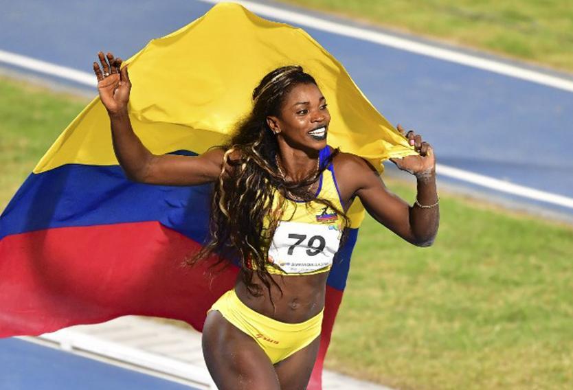 Caterine Ibargüen fue superada en la parada de la Liga Diamante en Mónaco  | EL FRENTE