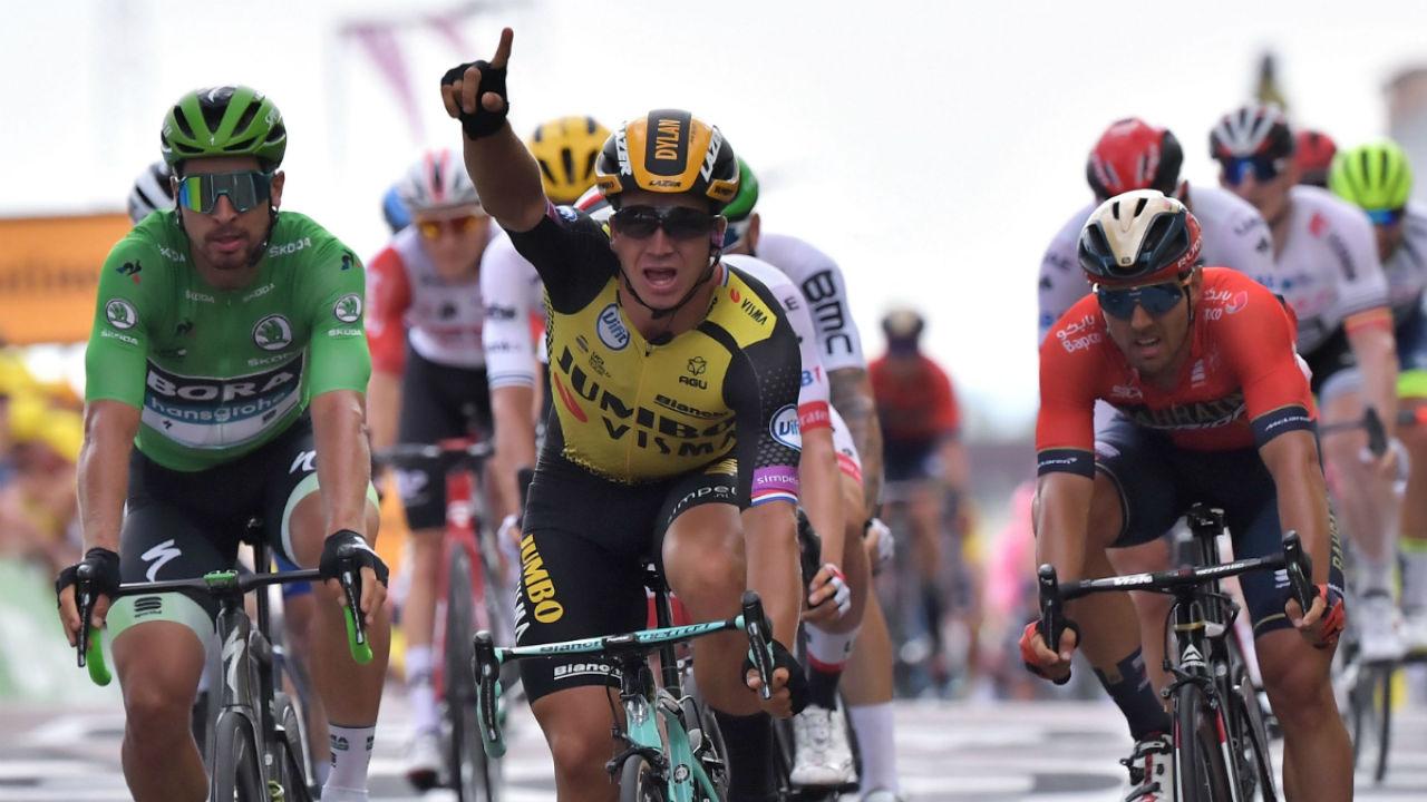Groenewegen ganó la etapa más extensa del Tour | EL FRENTE