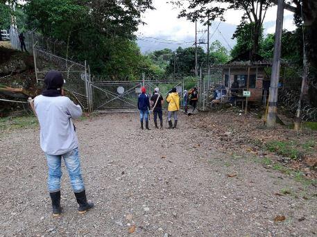 Comunidades indígenas y campesinas se tomaron la planta de gas en Gibraltar | EL FRENTE