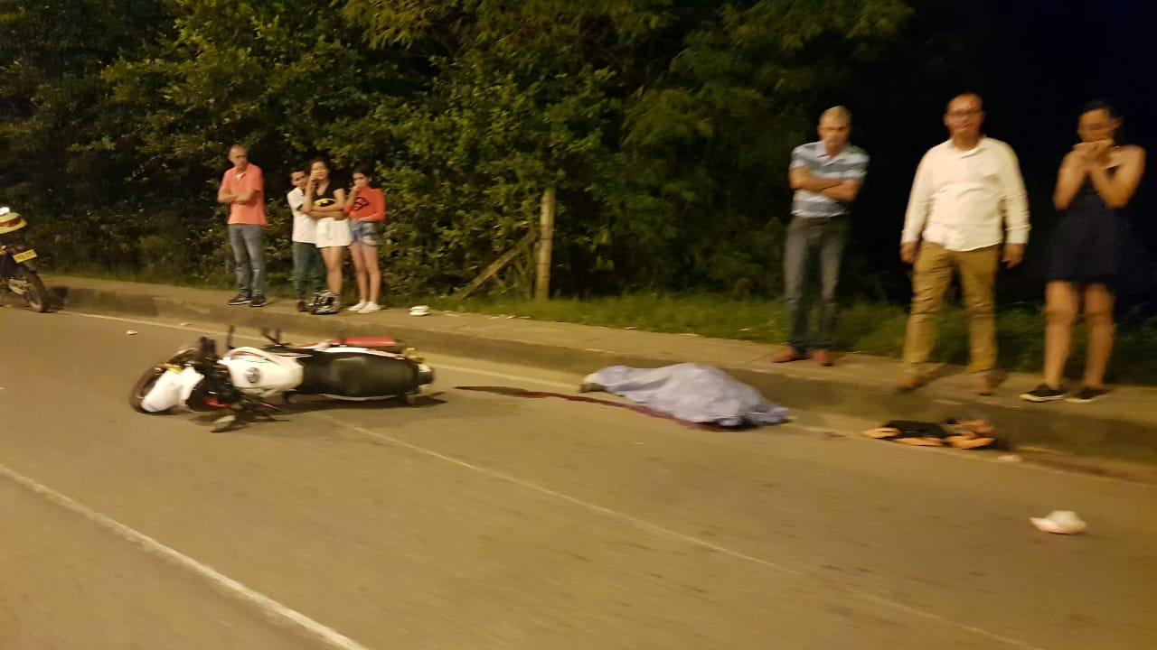 Un hombre fallece tras un accidente de moto    EL FRENTE