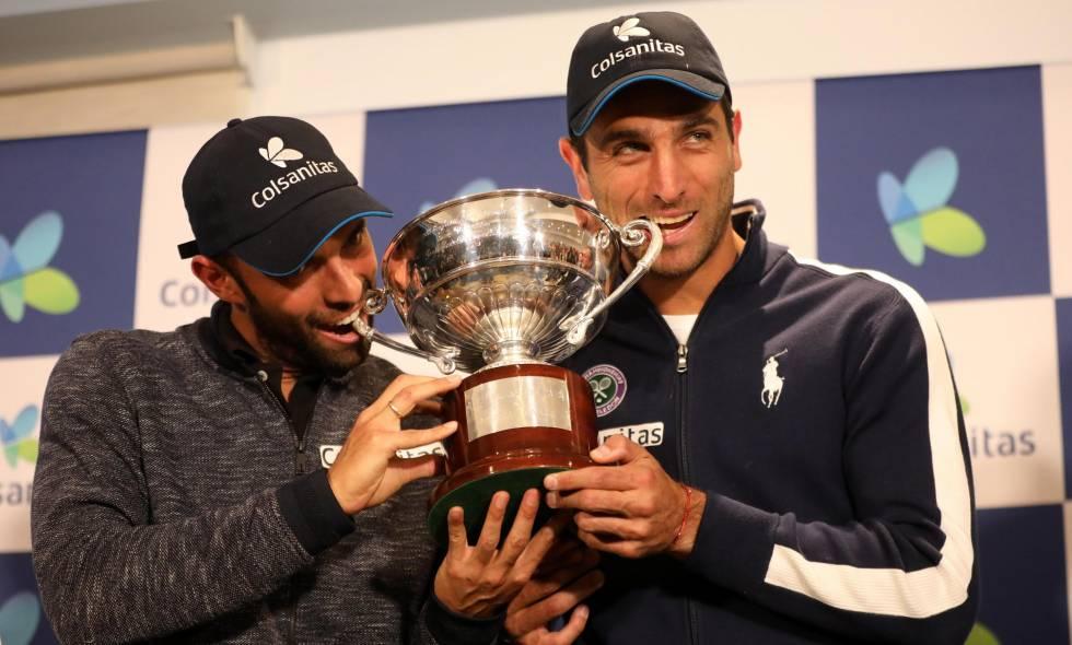 Llegaron al país los campeones de Wimbledon Juan Sebastián Cabal y Robert Farah  | EL FRENTE