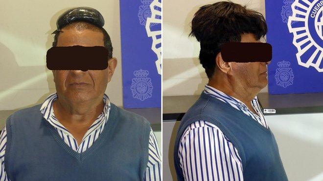 Colombiano capturado en aeropuerto de Barcelona por llevar droga en su peluquín   EL FRENTE