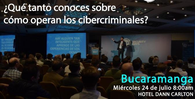 ESET Security Day 2019. Evento en Bucaramanga ¿Cómo operan los cibercriminales? | EL FRENTE