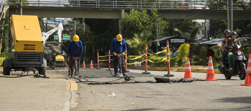 Dos empresas ejecutarán los $12.594 millones de la malla vial  | EL FRENTE