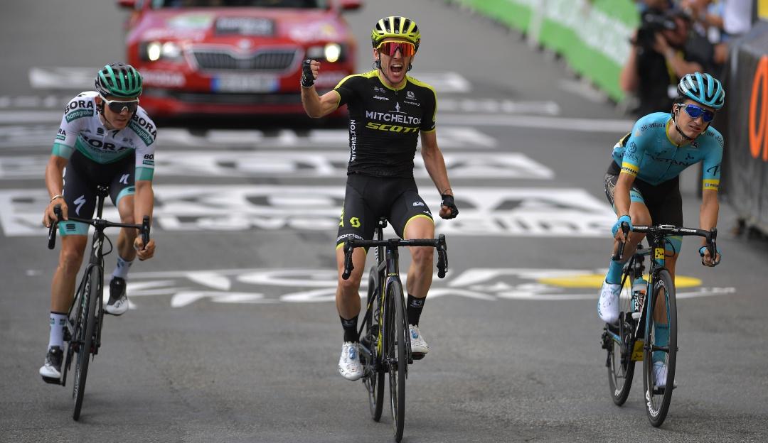 Simon Yates ganó la primera etapa en Los Pirineos   Internacional   Deportes   EL FRENTE