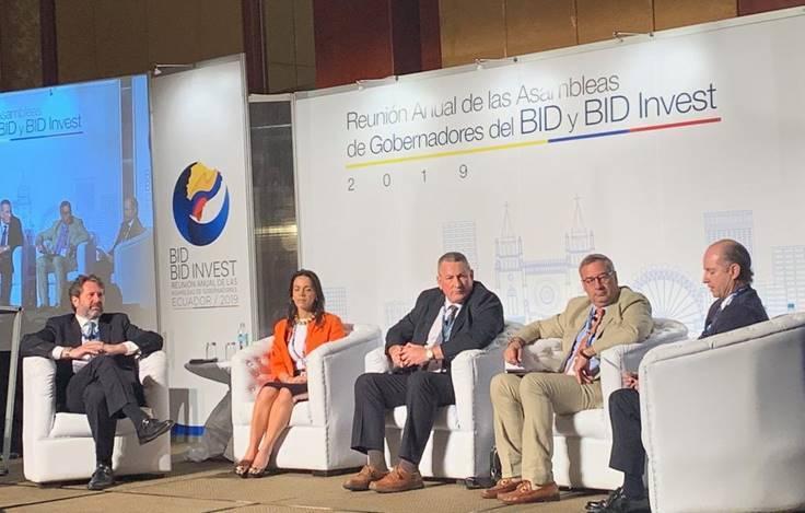 Asamblea de Gobernadores del BID y del BID Invest en Ecuador con Carlos Enrique Cavelier  | Economía | EL FRENTE