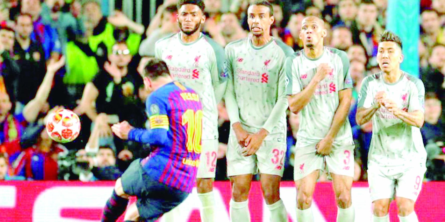 Gol de la temporada europea para Messi | EL FRENTE
