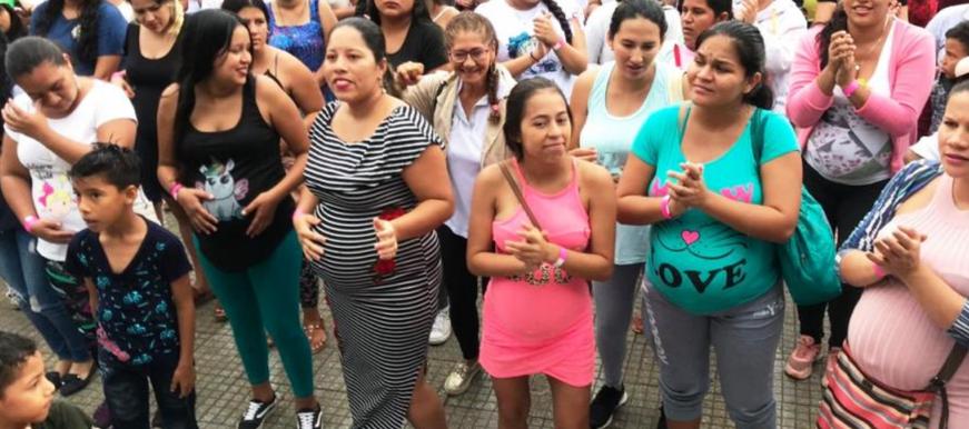 Madres participaron de la Lactatón 2019  | EL FRENTE