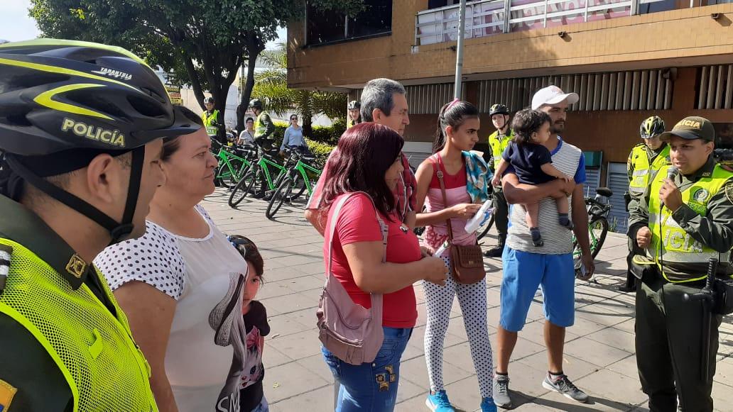 La Policía Nacional realizó campaña contra el hurto en Bucaramanga | EL FRENTE