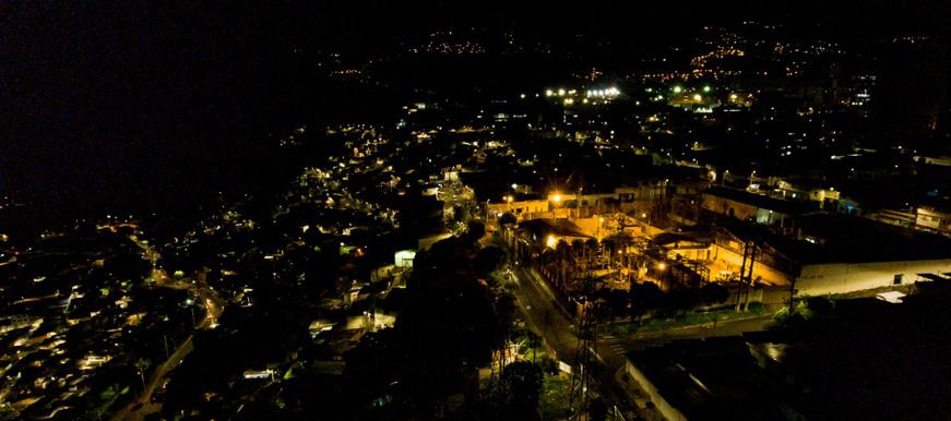 Bucaramanga cuenta con 22 mil luminarias tecnología LED   EL FRENTE