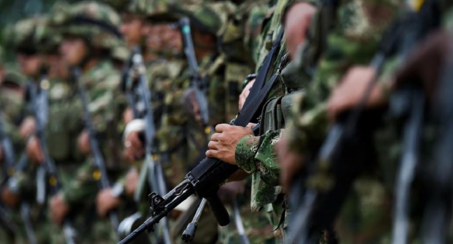 Cuatro militares quedaron herido tras ataque con cilindros bomba en el Catatumbo | EL FRENTE