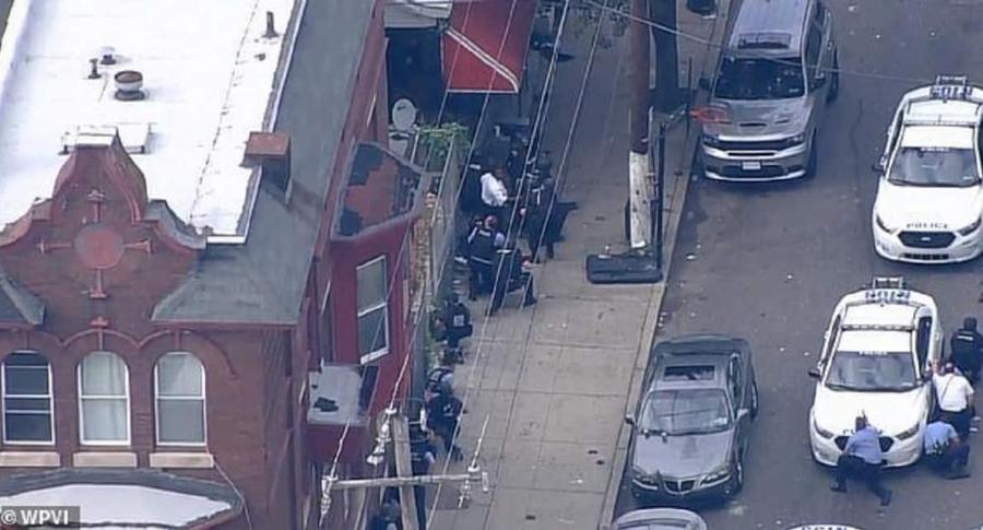 Tiroteo en Filadelfia: reportan al menos seis policías heridos   EL FRENTE