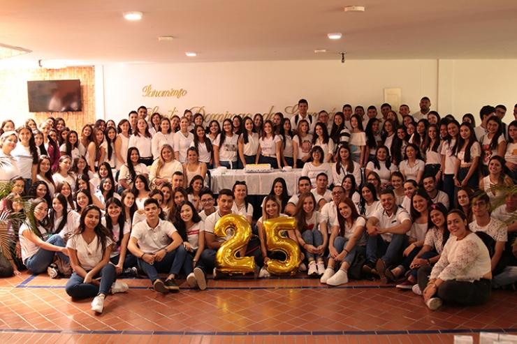 Celebración del aniversario de la Facultad de Optometría. La Santoto: 25 años con buenos ojos | EL FRENTE
