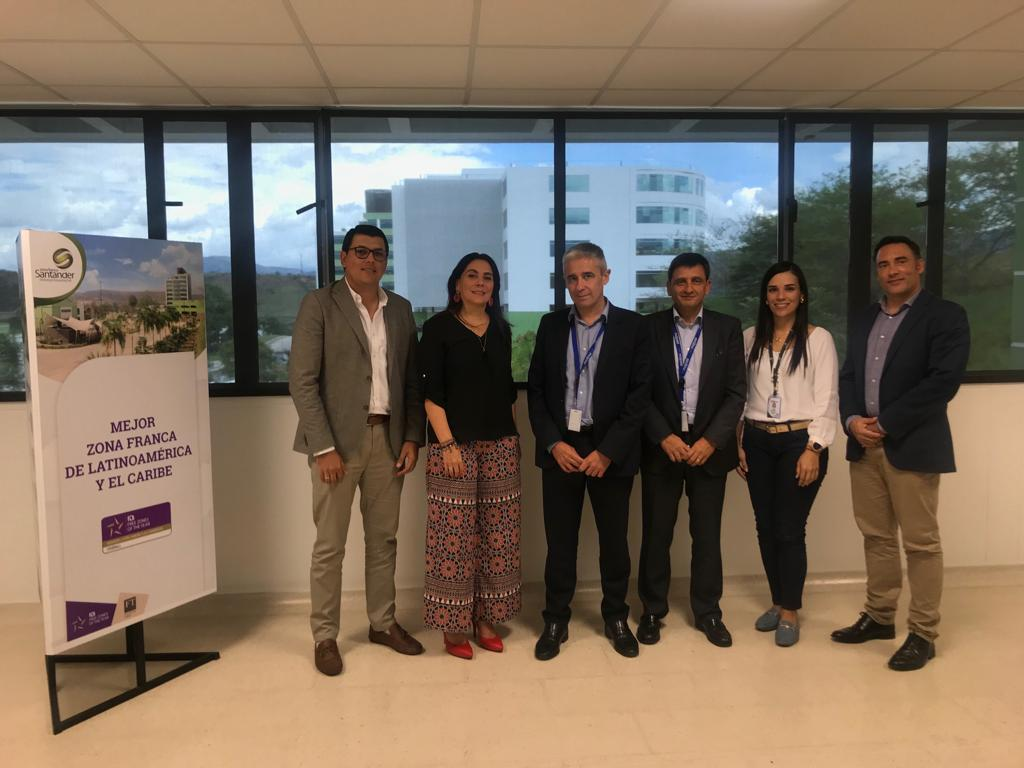 Visita internacional a Zona Franca Santander. Majorel proyecta expandirse en la región   Local   Economía   EL FRENTE