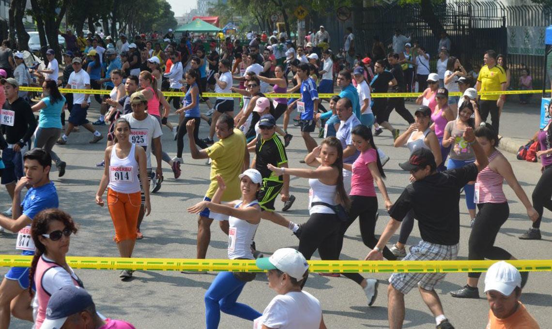 Inderbu celebra Día Mundial de la Actividad Física | Local | Deportes | EL FRENTE