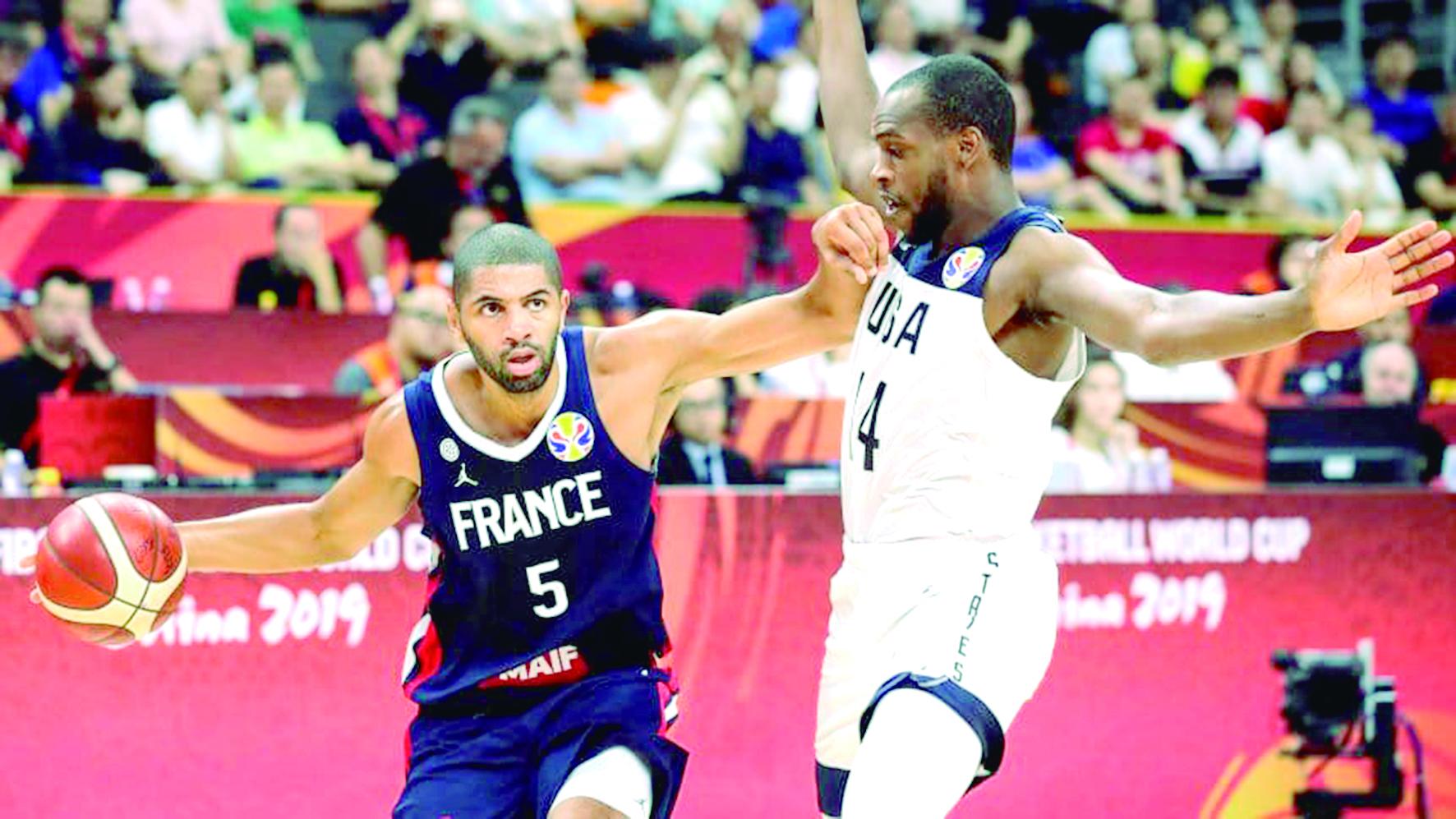 Sorpresa en el Mundial de Baloncesto. Francia elimina a Estados Unidos | Internacional | Deportes | EL FRENTE
