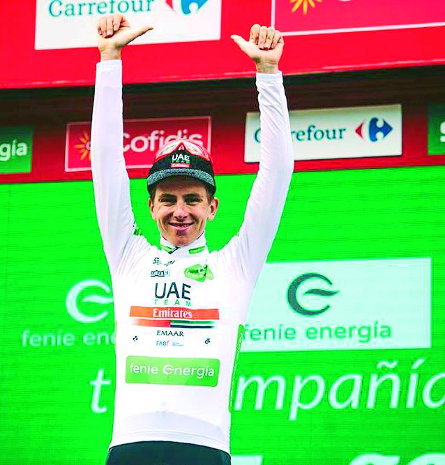 Primoz Roglic virtual campeón de la Vuelta a España | Internacional | Deportes | EL FRENTE