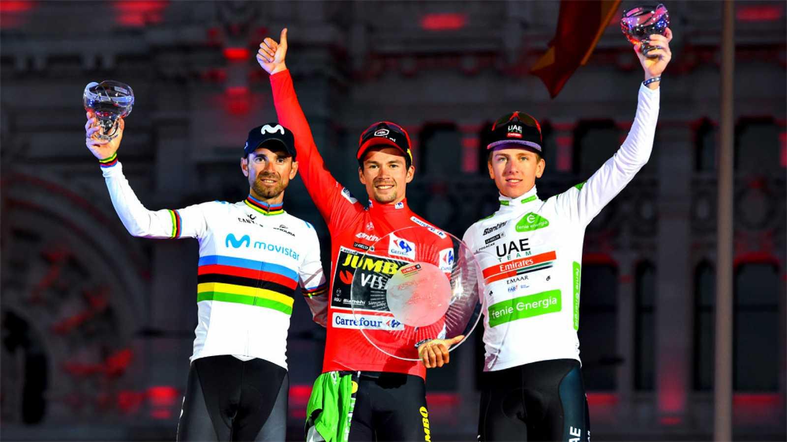 Roglic un salto del esquí al podio de la Vuelta a España | Internacional | Deportes | EL FRENTE