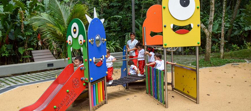 Comunidad disfruta del nuevo Parque Ecológico La Flora   Metro   EL FRENTE