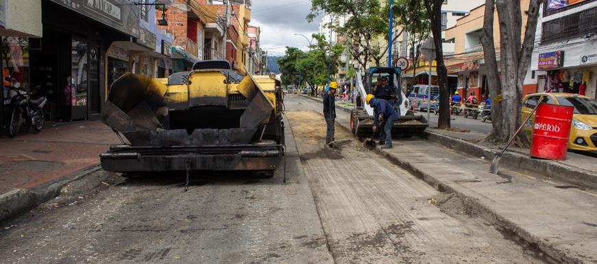 Avanza recuperación vial de la calle 45    Metro   EL FRENTE