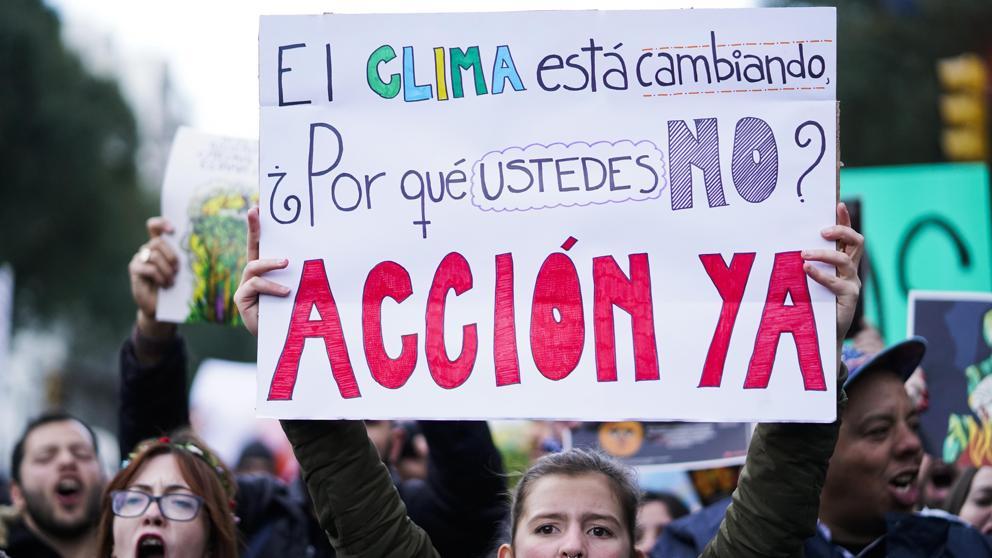 Inició huelga mundial en defensa del clima | EL FRENTE